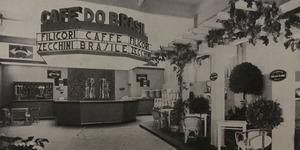 Foto del padiglione caffé Felicori Zecchini, in «Bologna. Rivista mensile del Comune», n. 5, maggio 1935.