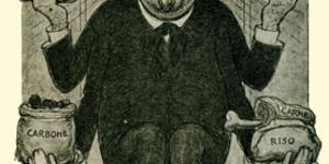 Vignetta di Zanardi (Vita cittadina, agosto 1917).