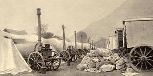 Panificio militare. I forni Weiss, in «L'Illustrazione italiana», 12 settembre 1915, n. 37, p. 220, Istituto per la storia e le memorie del '900 Parri E-R.